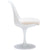 Daisy Side Chair in White EM-106 - YourBarStoolStore + Chairs, Tables and Outdoor  - 3