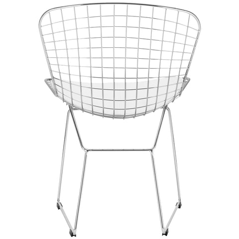 Morph Side Chair in White (Set of 2) EM-108-X2