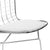 Morph Side Chair in White (Set of 2) EM-108-X2 - YourBarStoolStore + Chairs, Tables and Outdoor  - 5