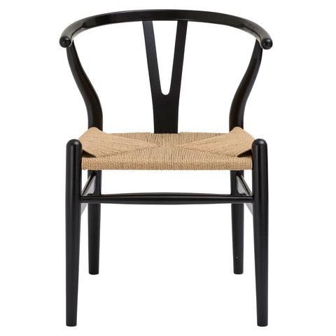 Weave Chair in Black (Set of 2) EM-109-X2