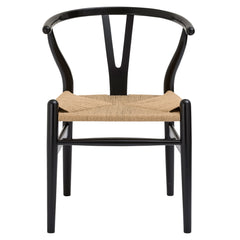 Weave Chair in Black (Set of 2) EM-109-X2 - YourBarStoolStore + Chairs, Tables and Outdoor  - 1