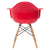 Vortex Arm Chair in Red (Set of 2) EM-110-NAT-X2 - YourBarStoolStore + Chairs, Tables and Outdoor  - 4