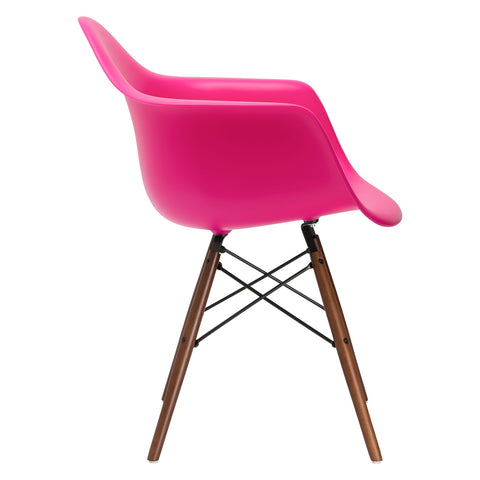 Vortex Arm Chair Walnut Leg in Fuchsia (Set of 2) EM-110-WAL-X2