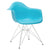 Padget Arm Chair in Aqua (Set of 2) EM-111-CRM-X2 - YourBarStoolStore + Chairs, Tables and Outdoor  - 3