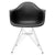 Padget Arm Chair in Black (Set of 2) EM-111-CRM-X2 - YourBarStoolStore + Chairs, Tables and Outdoor  - 2