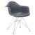 Padget Arm Chair in Grey (Set of 2) EM-111-CRM-X2 - YourBarStoolStore + Chairs, Tables and Outdoor  - 3