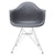 Padget Arm Chair in Grey (Set of 2) EM-111-CRM-X2 - YourBarStoolStore + Chairs, Tables and Outdoor  - 2