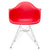 Padget Arm Chair in Red EM-111-CRM - YourBarStoolStore + Chairs, Tables and Outdoor  - 2