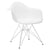 Padget Arm Chair in White EM-111-CRM - YourBarStoolStore + Chairs, Tables and Outdoor  - 4