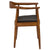 Kennedy Arm Chair in Walnut EM-115 - YourBarStoolStore + Chairs, Tables and Outdoor  - 3