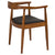 Kennedy Arm Chair in Walnut EM-115 - YourBarStoolStore + Chairs, Tables and Outdoor  - 4
