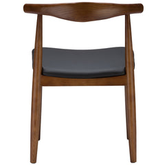 Keren Dining Chair in Walnut (Set of 2) EM-116-X2 - YourBarStoolStore + Chairs, Tables and Outdoor  - 1