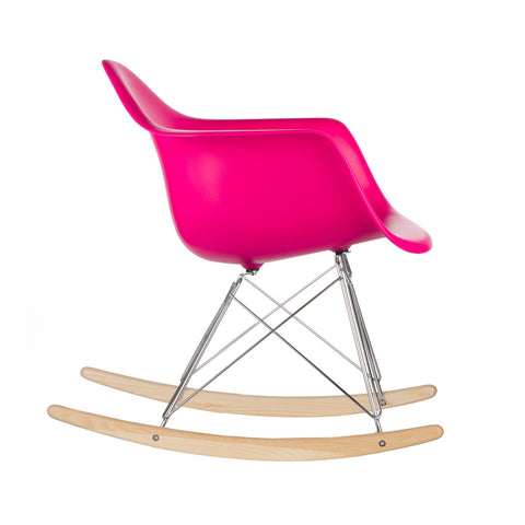 Rocker Lounge Chair in Fuchsia EM-121