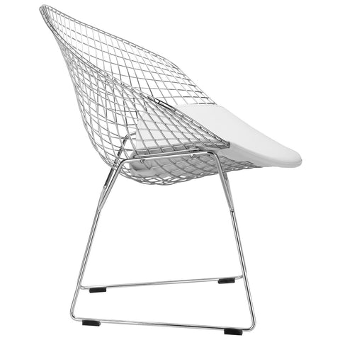 Morph Lounge Chair in White EM-127