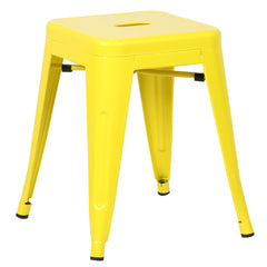 "Trattoria 18"" Stool - Yellow - YourBarStoolStore + Chairs, Tables and Outdoor  - 1"