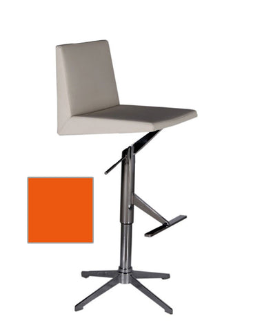 Bellini 25 32 Inch Barstool  ETHAN BS ORANGE