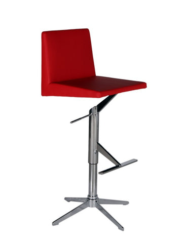 Bellini 25 32 Inch Barstool  ETHAN BS RED