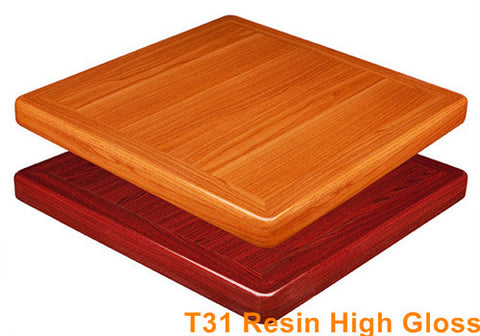 Commercial Tables T31 Resin High Gloss