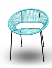 Acapulco Outdoor Dining Chair - Glacier Blue - YourBarStoolStore + Chairs, Tables and Outdoor  - 1