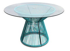 Acapulco Dining Table - Glacier Blue - YourBarStoolStore + Chairs, Tables and Outdoor
