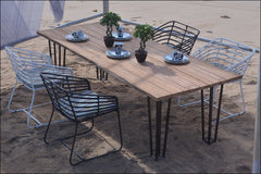 Exo Outdoor 6-Seater Dining Table - YourBarStoolStore + Chairs, Tables and Outdoor  - 1