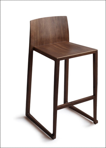 Hanna Counter Stool (25.5 inch) - OS0006-1 WALNUT OS-12A-02
