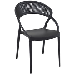 Sunset Dining Chair Black