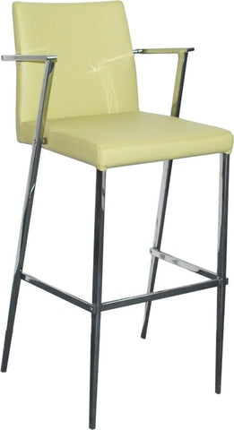 Bellini 25 Inch Barstool Green KINGSTON CS - GRN
