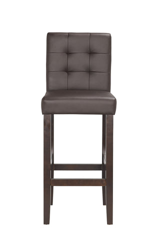 Boraam Lyon 29Inch Barstool Brown 82329 Set of 2