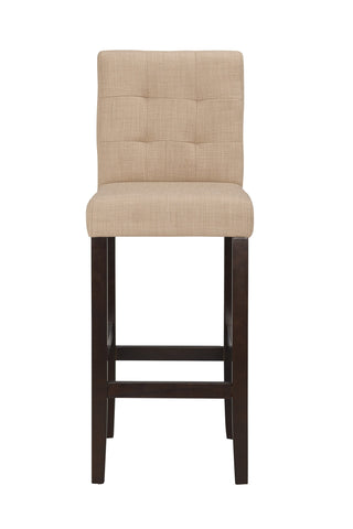 Boraam Lyon 24Inch Counterstool Khaki 82424 Set of 2