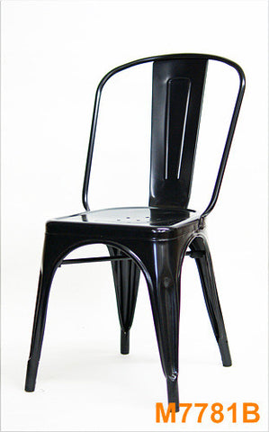 Commercial Chair Model M7781 Black