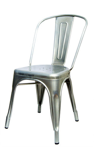 Commercial Chair Model M7781 Silver