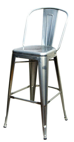 Commercial Chair Model M7783 Silver