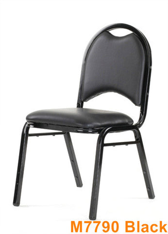 Commercial Chair Model M7790 Black