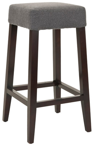 Safavieh 30 Inch Barstool Heather Grey MCR4530E