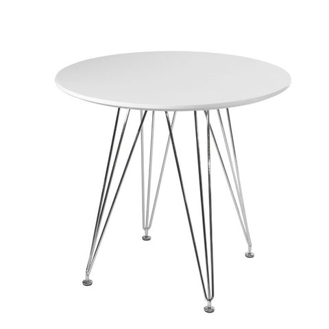 ModMade Paris Tower Round Table MM-GT-027F-White