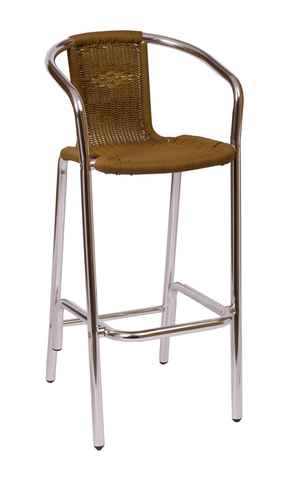 Commercial Arm Barstool Madrid Tan