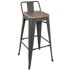 Oregon Low Back Barstool - Set of 2