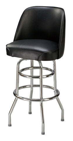 "Regal Seating 24"" Regal Classic Bucket Stool, Double Ring Base p2-1106"