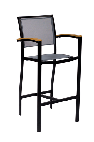 Commercial Arm Barstool Delray