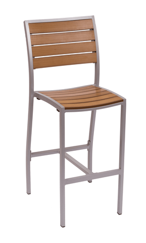 Commercial Side Barstool Largo Grey