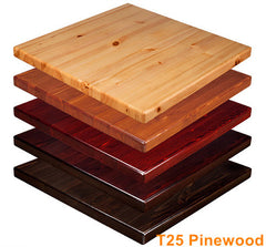 Commercial Tables T25 Pinewood - YourBarStoolStore + Chairs, Tables and Outdoor  - 1