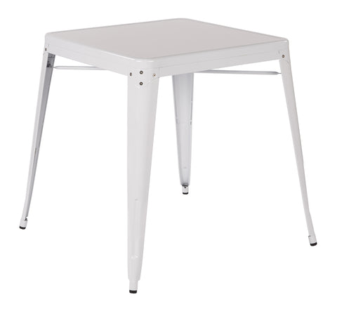 Tolix Paterson Metal Table in White Finish