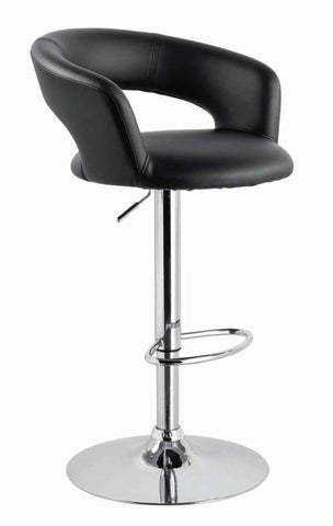 Creative Images S1037 Black Bar Stool