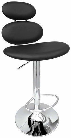 Creative Images S1125 Black Bar Stool