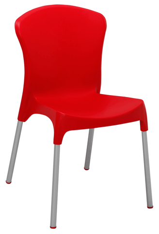 Commercial Side Chair Parma Lola Red
