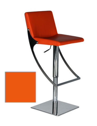 Bellini 21 31 Inch Barstool  SONIC BS ORANGE
