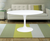 "White Round 42"" Lily - Tulip Fiberglass Table - YourBarStoolStore + Chairs, Tables and Outdoor  - 3"