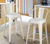 White Metal Barstool With Back (Set of 2) - YourBarStoolStore + Chairs, Tables and Outdoor  - 3