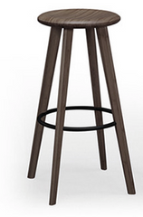 Mimosa Bamboo Bar Stools Black Walnut - YourBarStoolStore + Chairs, Tables and Outdoor  - 1
